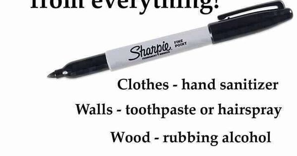 how to clean sharpie marker off carpet