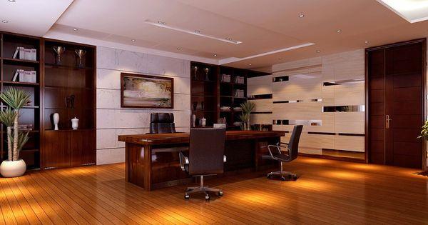 modern ceo office interior design