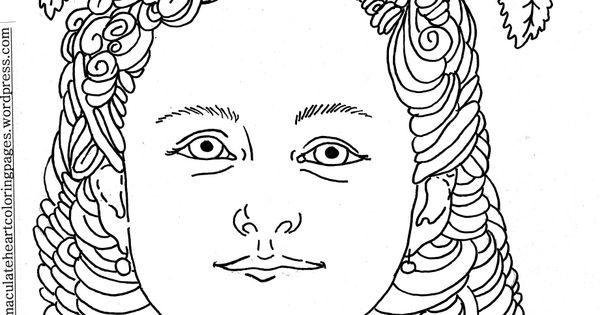 therese of lisieux coloring pages - photo#26