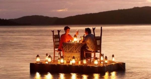 Fiji - turtle Island Resort. That would be the most romantic dinner