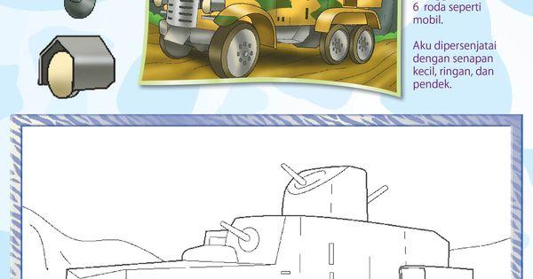 Mewarnai Tank Ringan Mobil Lapis Baja Aikoku Ebook Anak Gambar