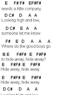 Flute Sheet Music Hide Away With Images Flute Sheet Music