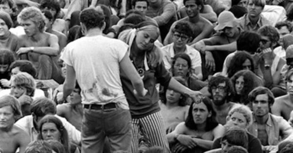 """living the dream woodstock 1969 When i think of the counterculture movement of the 1960's, one led zeppelin lyric manages always to fly into my head """"someone told me there's a girl out there / with love in her eyes and flowers in her hair."""