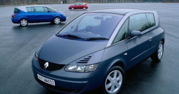 Renault Avantime Un Nom Premonitoire Renault Avantime Voiture