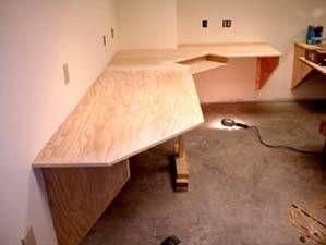 Home Office Desk Plans Ask The Builder Desk Plans Diy Corner Desk Woodworking Desk Plans