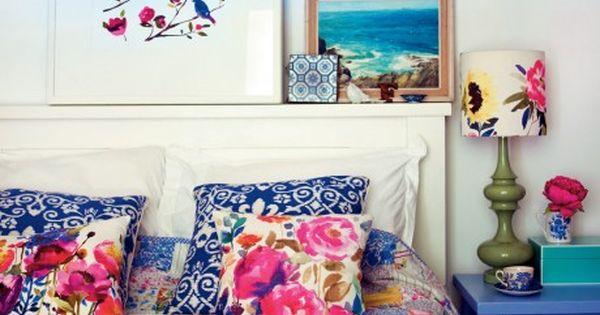 Pretty colours -- Homespun Style - by Selina Lake /photography by Debi