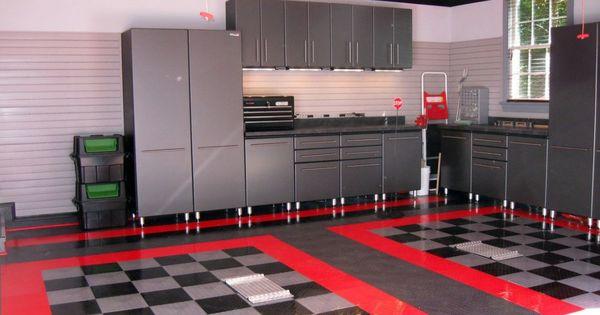Decorative garage storage ideas garage pinterest for Idee deco garage