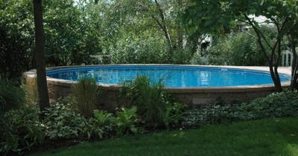Inground Pools For Sloped Yards Pool Can Be Installed