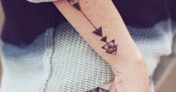 Loving the arrow tattoo idea
