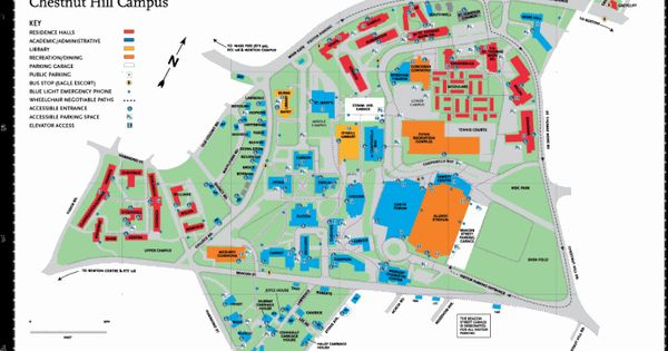 Campus map, Maps and Boston on Pinterest