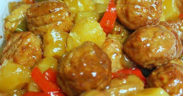 Crockpot Hawaiian Meatballs Frozen Le Veon Bell And Fingers