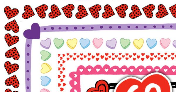 Clip art, Valentines day and Valentines on Pinterest