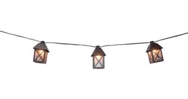 Smith And Hawken String Lights Target : Target/Smith & Hawken Lantern String Lights USD 25 By Firelight Pinterest Lantern string ...