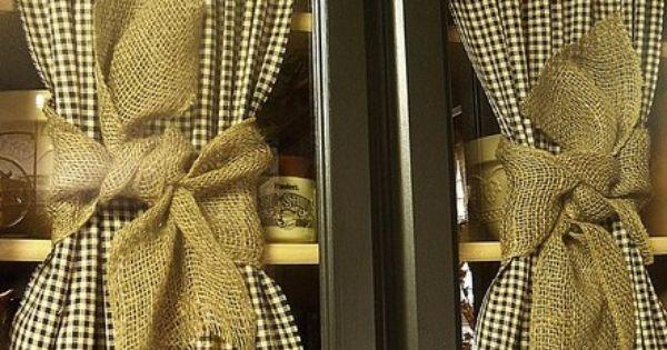 Fabulous curtain ties!  House ideas  Pinterest  Curtain Ties ...