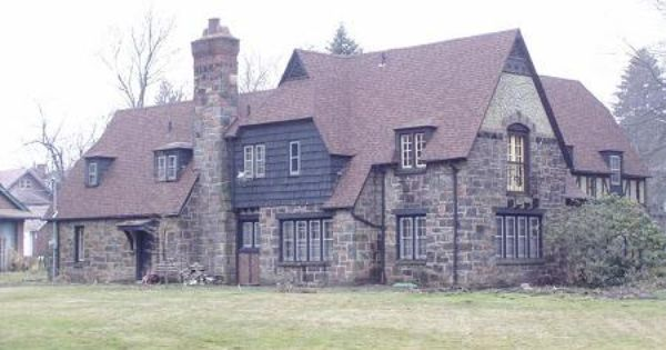 1927 Stone Tudor Mansion Crandall Park Youngstown Oh Stone
