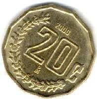 Moneda De 20 Centavos Mexico Monedas Valor De Monedas Antiguas Billetes