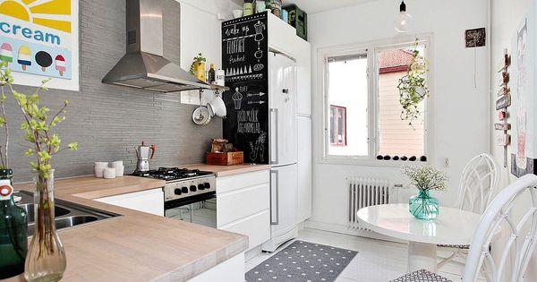 Coqueto apartamento de 43m2 en suecia suecia for Alfombras de cocina
