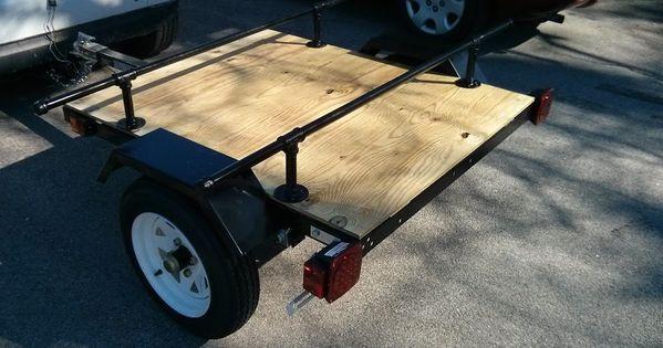 harbor freight trailer build page 2 smart car forums kayaking pinterest smart car. Black Bedroom Furniture Sets. Home Design Ideas