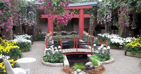 wintergarten selber bauen japanischer garten   gartengestaltung, Garten seite