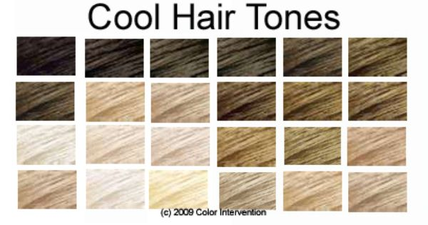 Hair Color For Cool Skin And Blue Eyes This Means That You Have