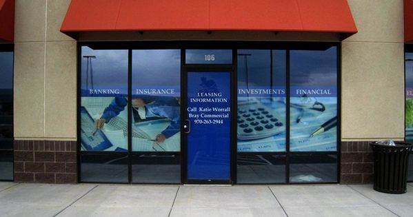 Outdoors Speedpro Imaging Window Graphics Window Signage Store Fronts