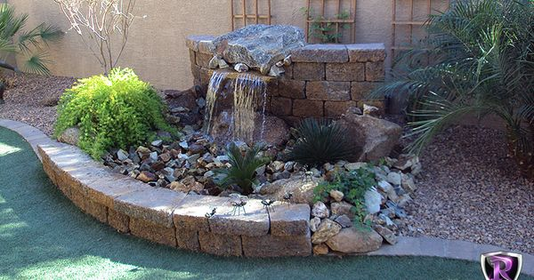 | Pinterest | Arizona Landscaping, Backyard Ideas and Water Features