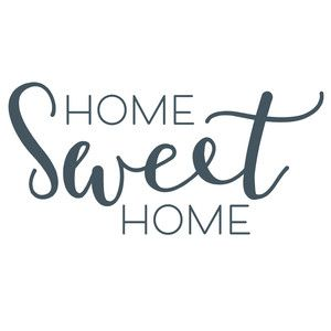 Home Sweet Home Silhouette Design Design Front Porch Signs