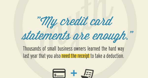 credit card statement examples