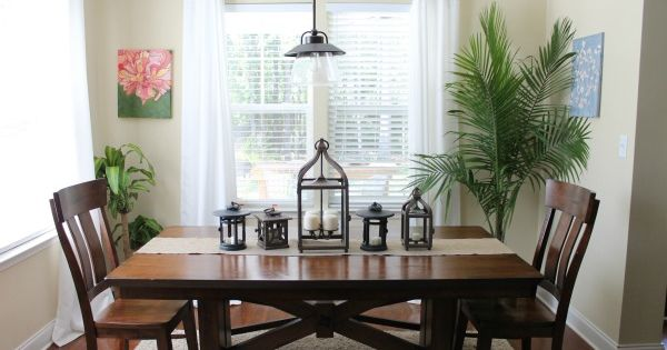 "dining room with plants | ""diy home decor ideas"" 