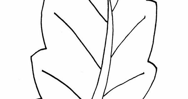 Hoja De Otono Para Colorear Para Para Para Hojas Del Otono: Dibujos Para Colorear De Hojas De Los árboles, Plantillas