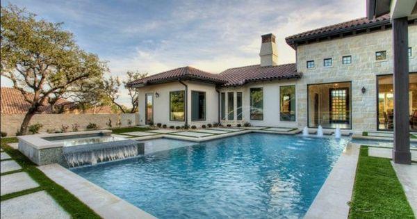 Fachada de casa italiana fabulous pinterest casa de - Casas de estilo italiano ...