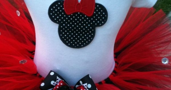 minnie mouse birthday party ideas Maybe I could figure out how to