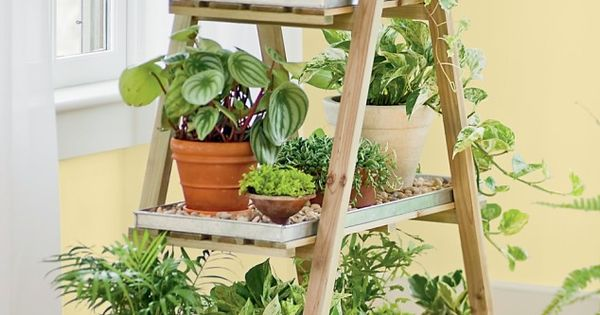 15 incredible ideas for indoor herb garden gardens etc for Herb stand ideas