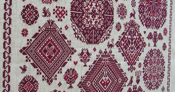 Red cross stitch sampler la vierlanden from clorami for Blackbird designs english garden