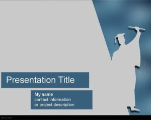 Commencement Powerpoint Template Free Powerpoint Templates Background For Powerpoint Presentation Powerpoint Presentation Powerpoint Template Free
