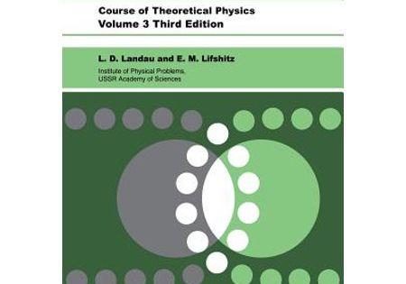 Quantum Mechanics Quantum Mechanics Non Relativistic Theory Series 3 Edition 3 Paperback Walmart Com In 2020 Quantum Mechanics Physics Theoretical Physics