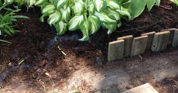 Super id e pour les chutes de bois du bricolage id es for Bordure de jardin en palette