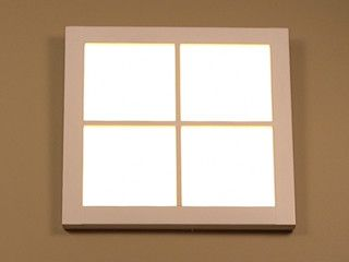 Sunlight Led Window Make Dark Rooms Light Looks Feels And Acts Like A Real Window Icrowdnewswire Lead Windows Room Lights Windows