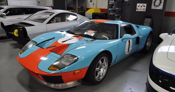 Gulf Race Cars Ford Gt Race Car In The Gulf Oil Blue Orange Racing Colors Ford Gt Race Cars Gulf Racing
