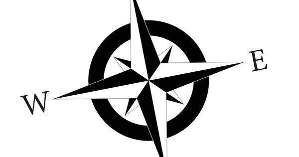 Compass Rose Nsew Bw Final Jpg Cliparts Co Finding My