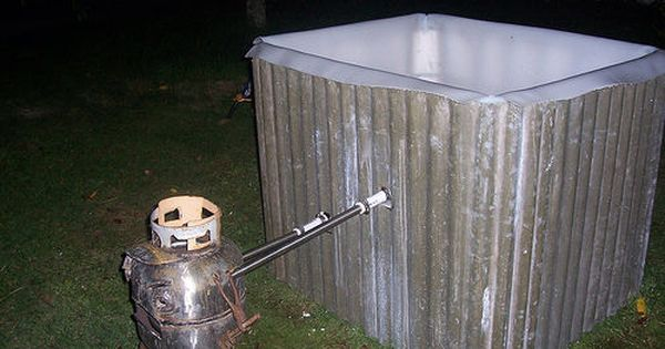 How To Build A Wood Fired Hot Tub Badefass Pool Ideen Und Cooles Zeug