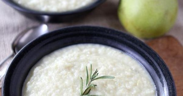 Parsnip soup, Pears and Apples on Pinterest