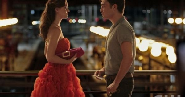 Dream dress & hair. Leighton Meester and Ed Westwick in Gossip Girl.