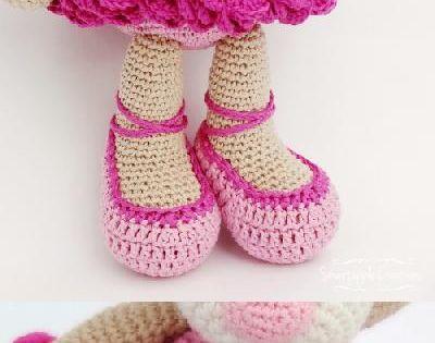 Amigurumi For Beginners Magazine : Bibi the Ballerina Bear amigurumi pattern by Smartapple ...