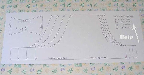 Free undies pattern - making up the pattern | Patterns