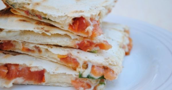 Hot Weather Recipes: Grilled Caprese Quesadillas