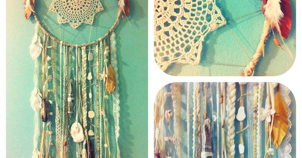 macrame dream catcher instructions