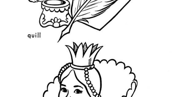 quill coloring pages - photo#19