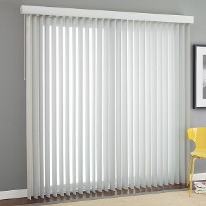 3 Cordless Premium Smooth Vertical Blinds Selectblinds Sliding Door Blinds Curtains With Blinds Vertical Blinds