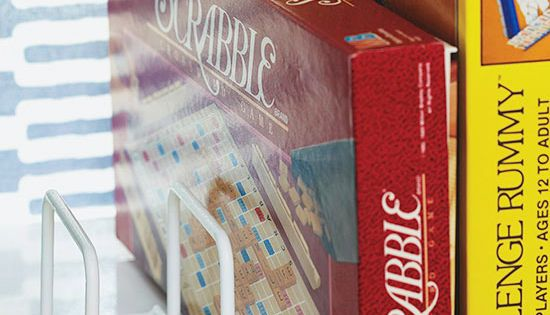 15-Minute Fix: Living Rooms - Games and Puzzles | Stacked board games